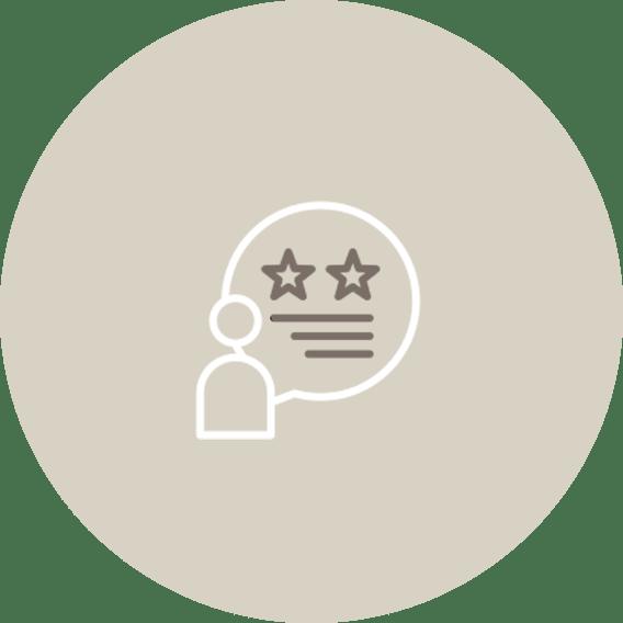 CUSTOMER  SERVICE  (RATINGS & REVIEWS)